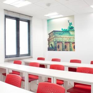Aula Fünf Goethe Institut Zaragoza
